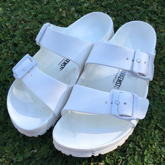 d0567d1b1ee Birkenstock Shoes - Super birk s size 37 6-7 water friendly white
